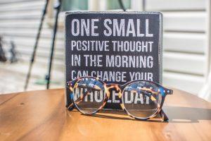 Une chose positive chaque matin